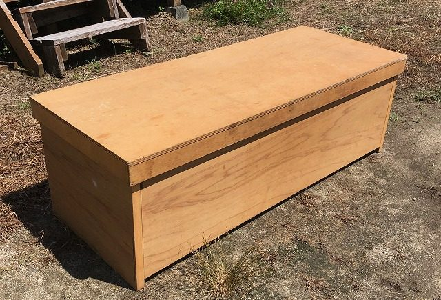折りたたみ式簡単テーブルの作り方
